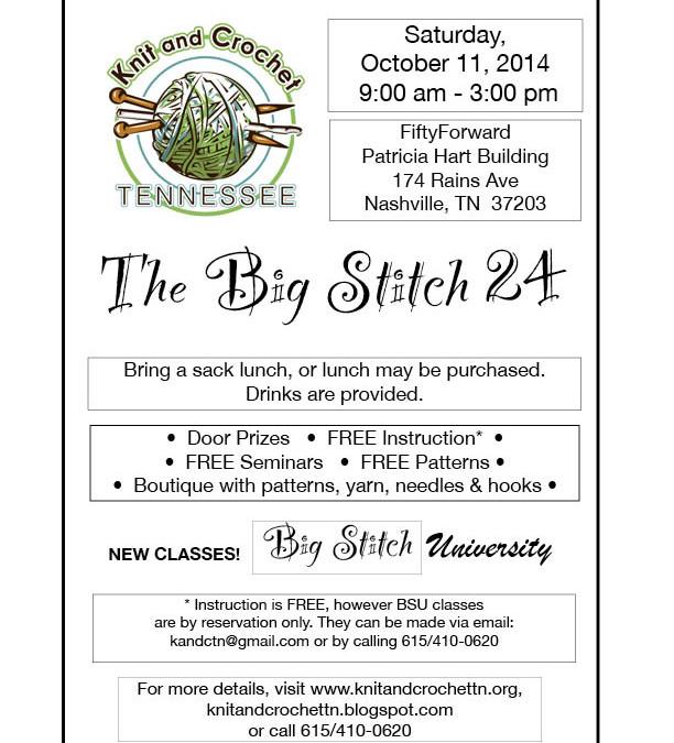 Big Stitch 24 – October 11, 2014