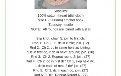 Quick Dry Crochet Soap Sack